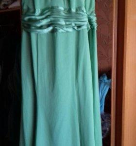 Вечернее платье 54-56
