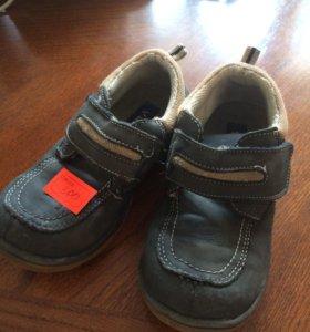 Ботинки демисезонные туфли 29 р кожаные