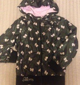 Детская куртка для девочек Born.Размер110-116(4-6)