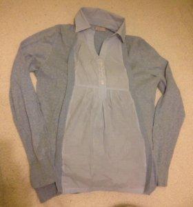 Кофта-блузка для беременных