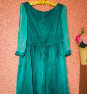 Платье сшито на заказ