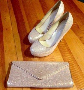 Туфли и клатч ALDO