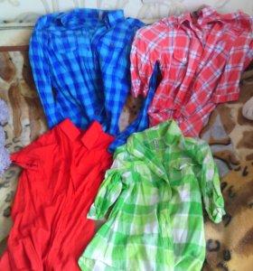 Рубашки на подростка