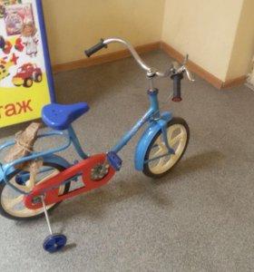 Велосипед ДРУГ (бабочка) пр-во Россия новый