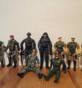 Солдатики Игрушки