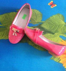 Туфли для девочки, р-р 23