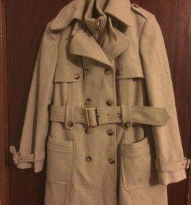 Пальто тёплое 46-48р
