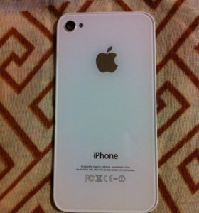 Крышка на iPhone 4G