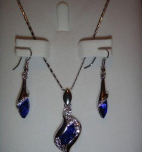 Ювелирная бижутерия с кристаллами Сваровски