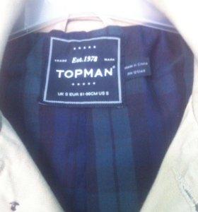Тренч, пальто top man
