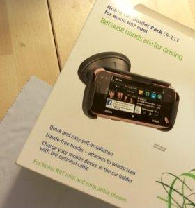 Автомобильный держатель Nokia N97 mini оригинал