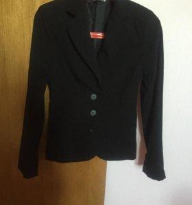 Пиджак (черный и серый)