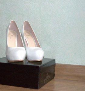 Туфли кожаные (размер 37)