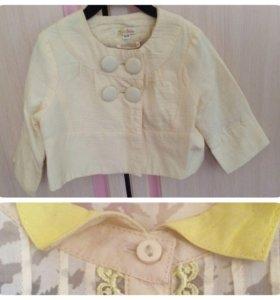 Комплект: пиджак и блузка, р. 122, Этти Детти
