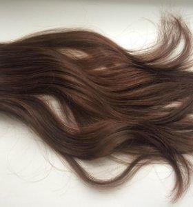 Накладные натуральные волосы(славянские)