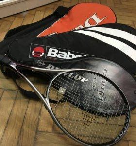 Теннисная ракетка, чехлы и сумка