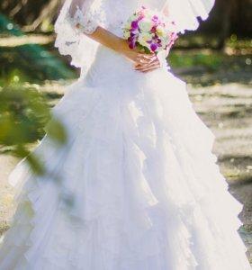 Свадебное платье размер 42