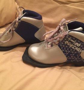 Ботинки лыжные детские 30 разм