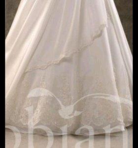 Свадебно платье фирмы Gabbiano,размер 46-48