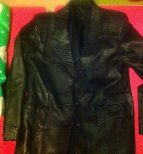 Новый кожанный пиджак