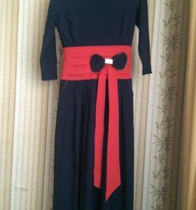 Платье в пол.42-46р-р