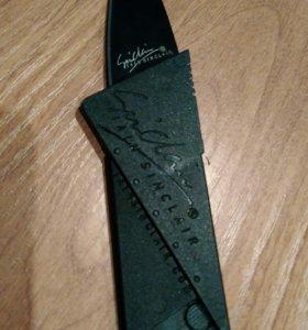 Нож - кредитка складной НОВЫЙ