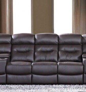 Продаю новый кожанный диван