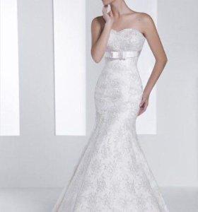 Свадебное платье - рыбка