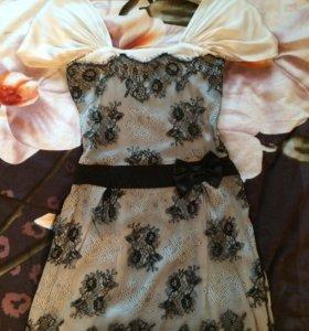 Платье коктейльное р-р 42-44