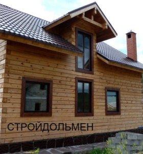 Строительство домов,  бань,  коттедж