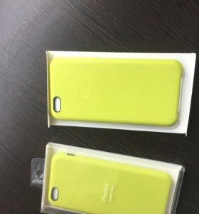 Чехол Leather Case для Apple iPhone 6/6s зелёный