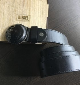Ремень Diesel черный
