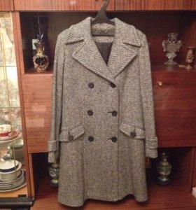 Пальто осеннее-весеннее (одето 2 раза)