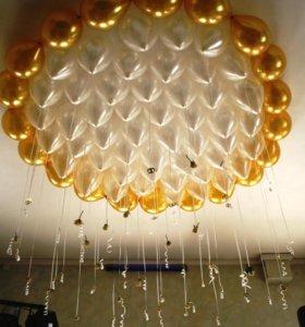 Воздушные, Гелиевые, шарики на любое мероприятие!