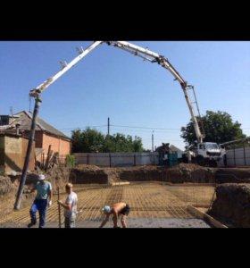 Бетон и услуги бетононасоса
