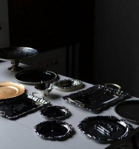 Посуда под серебро