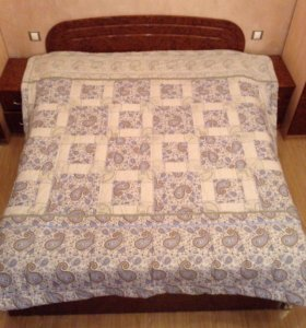 Наматрасник и одеяло из конопли ручной работы