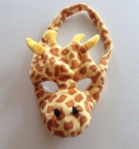 Маска детская. Жираф.