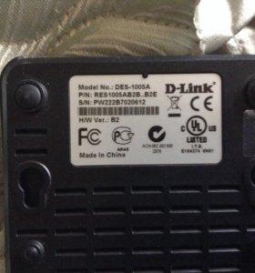 Коммутатор D-Link DES-1005A