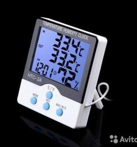 Портативный HTC-2A цифровой термометр гигрометр
