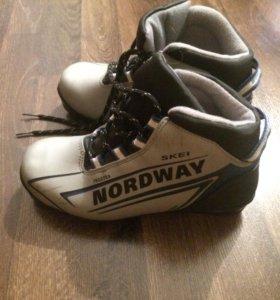 Лыжные ботинки для юного спортсмена