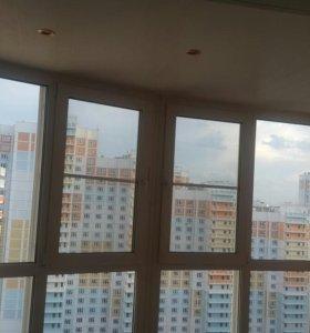 Остекление и отделка балконов любой сложности