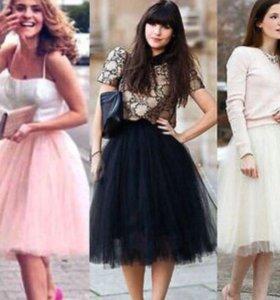 Пышные юбки пачки разные цвета