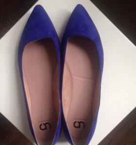Новые туфли-балетки 41