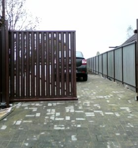 Заборы.Ворота,калитки