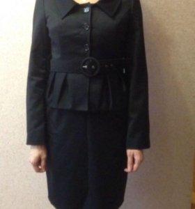 Комплект платье футляр и пиджак