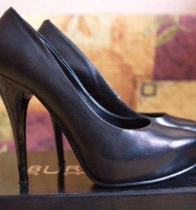 Туфли натуральная кожа р 36
