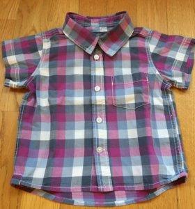Рубашка H&M 6-9 мес.