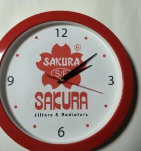 Часы  настенные-Sakura