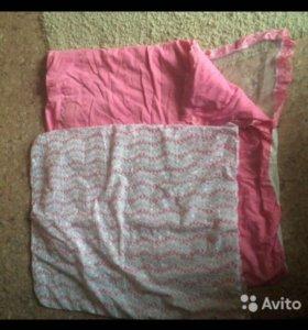 Конверт одеяло для девочки